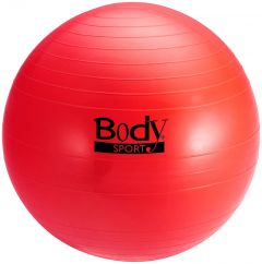 BodySport Exercise Ball, Red, 75cm