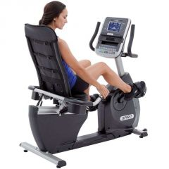 Spirit XBR95 Recumbent bike, self generating