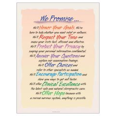 We Promise Poster, Laminated