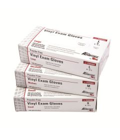 Pro Advantage Vinyl Exam Gloves - Latex & Powder-free (100/box)
