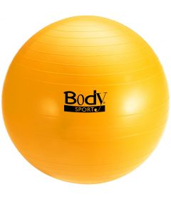 BodySport Exercise Ball, Yellow, 65 cm