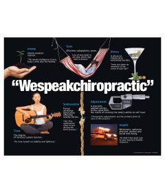 We Speak Chiropractic Poster, Paper